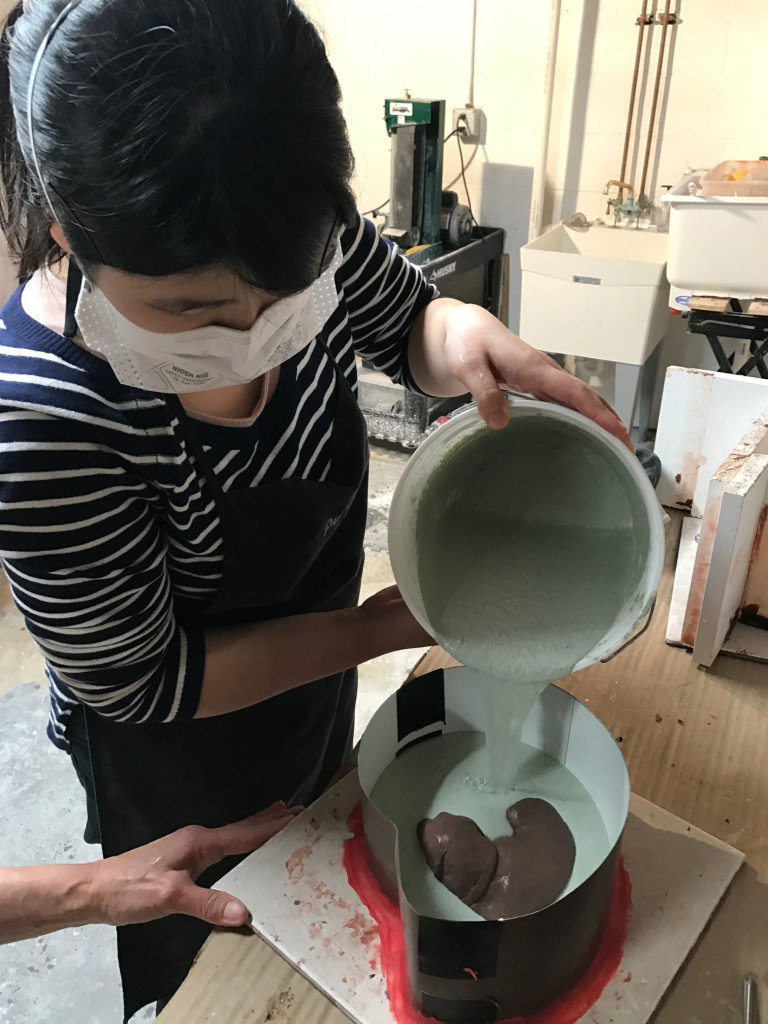 Pouring the Lab Mold